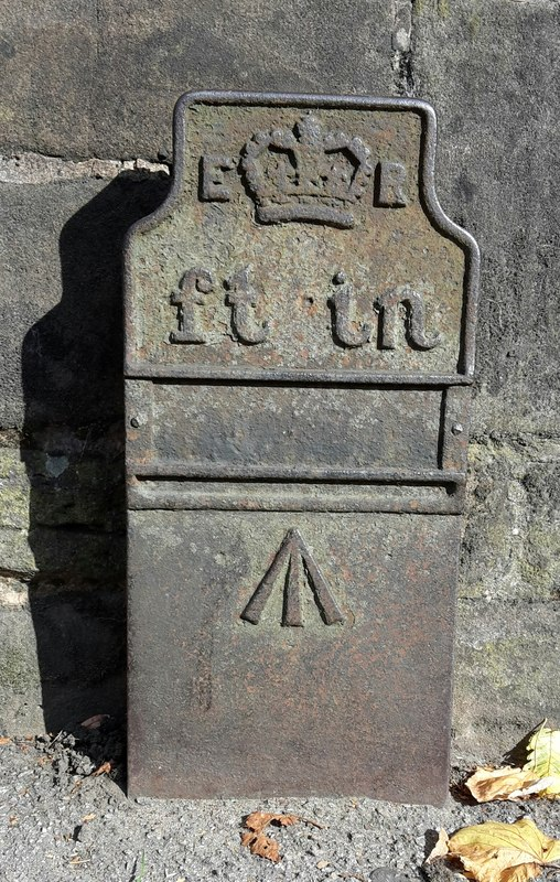 Telegraph cable marker post at St Mary's Church, Warwick Road, Acocks Green, Birmingham by Ged Hughes